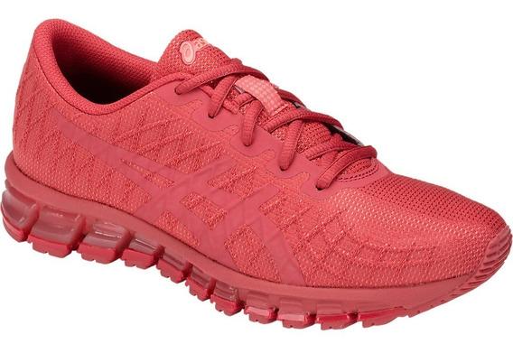 Zapatilla Asics Running Mujer Quantum 180 Coral Ras