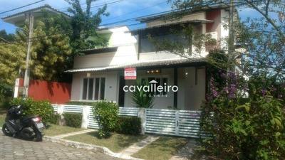 Exuberante Residência No Condomínio Village Santa Mônica - Ca3538