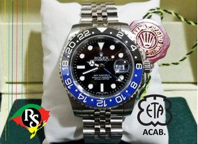 Relógio Gmt Master Batman Jubileu Ceramica Safira Automatic