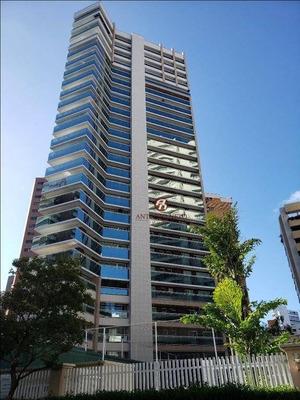 Apartamento Novo Com Vista Mar, Com 4 Dormitórios À Venda, 245 M² Por R$ 2.760.000 - Meireles - Fortaleza/ce - Ap0399