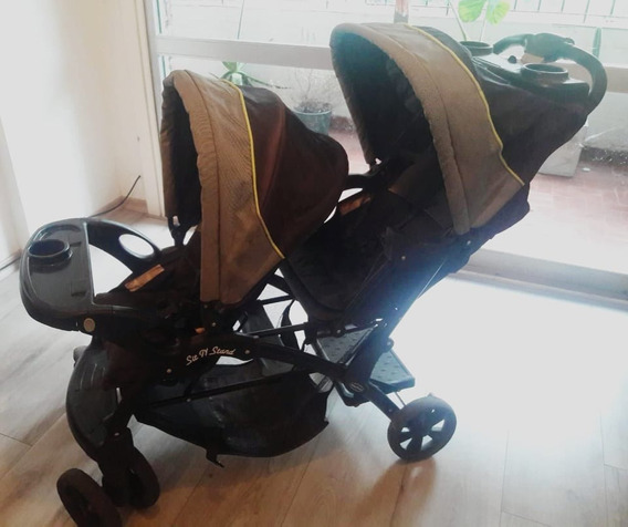 Cochecito Bebe Doble Baby Trend Sit N Stand