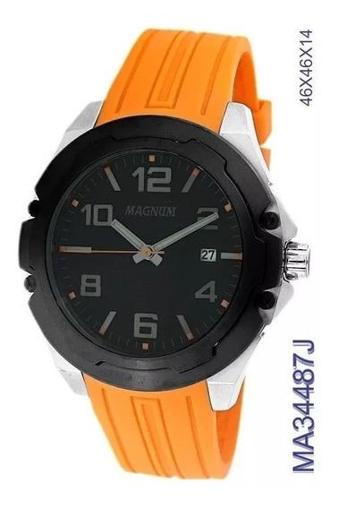 Relógio Magnum Masculino Ma34487j Oferta