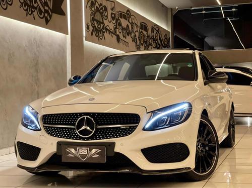 Imagem 1 de 15 de Mercedes C43 Amg 3.0 V6 4matic 9g 2017 47.000km Com Teto