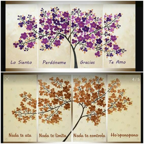 Árbol De La Vida Hoponopono Pintados A Mano