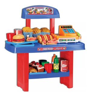 Juego Cocina Fast Food Caja Registradora Lionels Babymovil