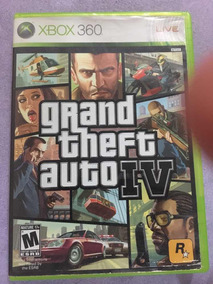 Grand Theft Auto Iv Xbox 360 - Original