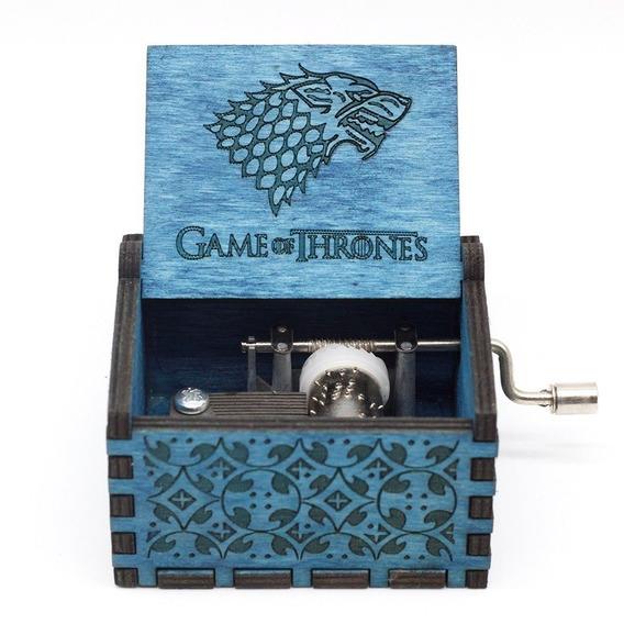 Caja Musical Game Of Trhones Lobo Azul