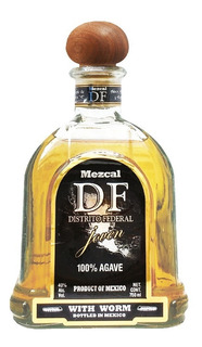 Tequila Mezcal Con Gusano Df 100% Agave Mezcal Mexicano
