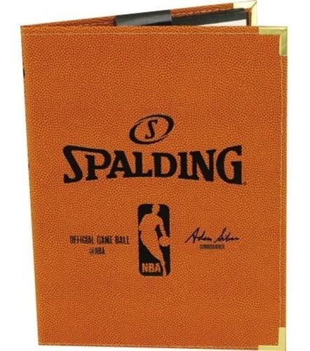 Carpeta Basket Spalding Dt Nota Entrenador Nba 16x22 Cke