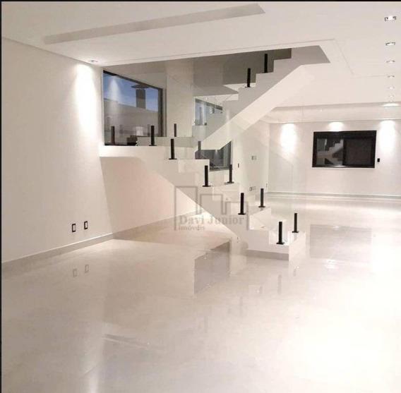 Casa Com 4 Dormitórios À Venda, 385 M² Por R$ 2.350.000,00 - Condomínio Residencial Giverny - Sorocaba/sp - Ca2315