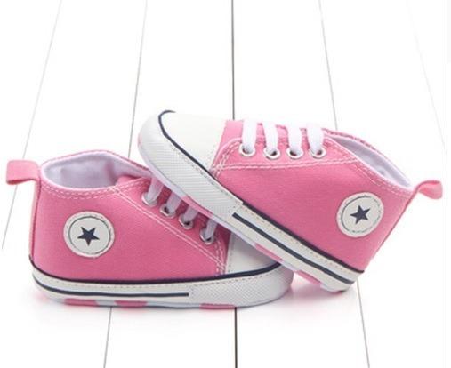 Sapato Bebê Tipo All Star Tênis Infantil Unissex