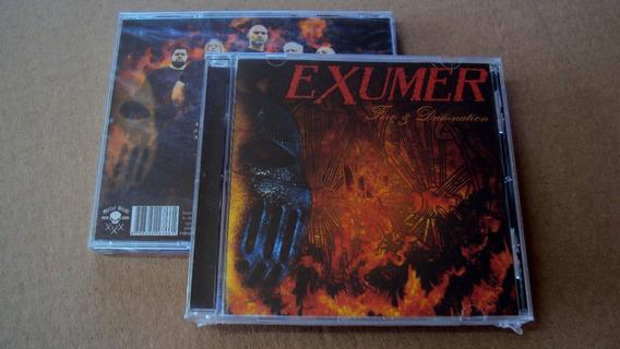 Cd Exumer - Fire & Domination / Slayer / Destruction