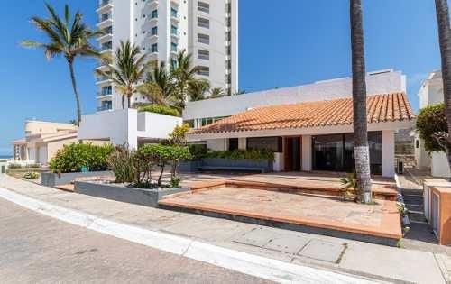 Casa A La Venta En Cerritos Mazatlan, A Pie De Playa