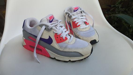 Zapatillas Nike Airmax 90 Mujer (muy Poco Uso)