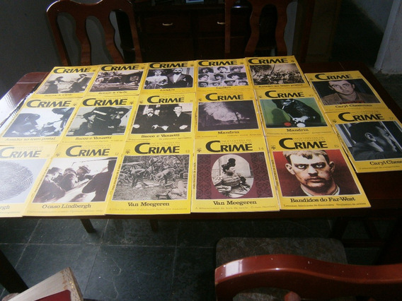 17.revistas.enciclopédia Do Crime.abril Cultural