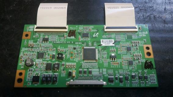 Placa Tcon F60mb4c2lv 0.6 Com Flats Da Samsung Ln40c530f1m