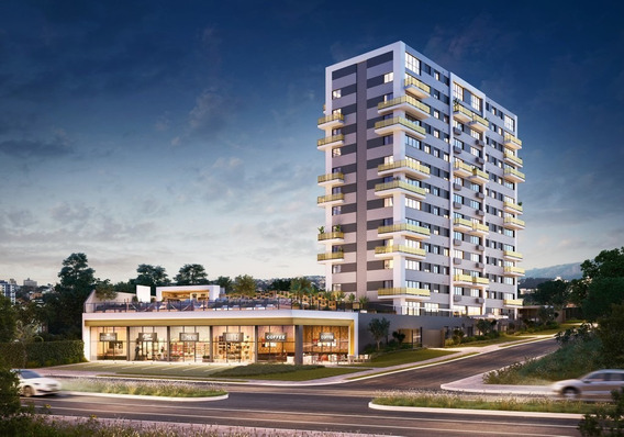 Apartamento Em Jardim Botânico Com 1 Dormitório - Rg3356