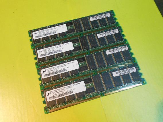 Memoria Micron P/servidor Ddr2 2gb (4 X 512mb) Ecc Pc2100