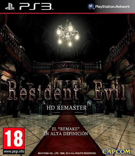 Resident Evil Hd Juego Digital Ps3