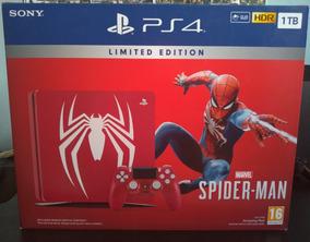 Playstation 4 Slim 1tb Homem-aranha
