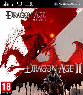 Dragon Age Origins + Dragon Age 2 Ps3 Digital Gcp
