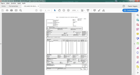 Modelo De Recibo Para Vendas - Arquivo Digital Excel - .xlsb