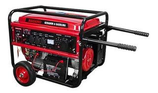 Gerador portátil Nagano NG8100E3 6400W trifásico com tecnologia AVR 110V/220V (Bivolt)