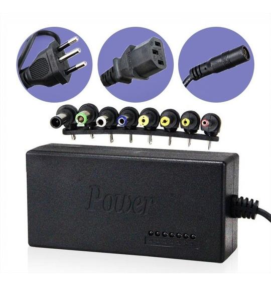 Fonte Carregador Universal Notebook Laptop Power 8 Conector