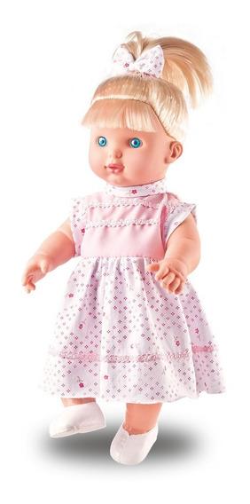 Boneca Bebê Shayane Fala 62 Frases, 34 Cm - Milk Brinquedos