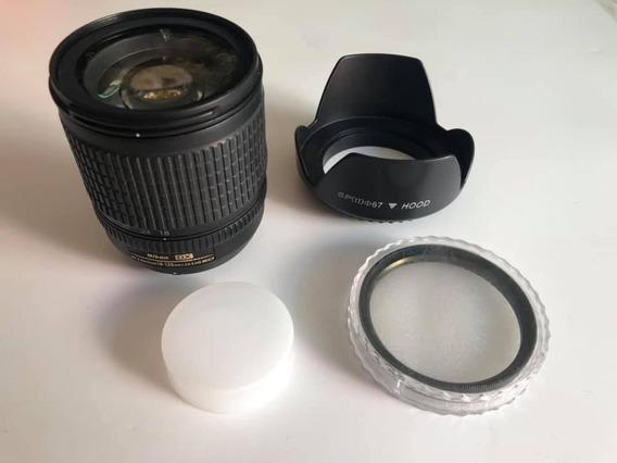Lente Nikon Dx 18-135 1:3.5-5.6g Ed 12x S/juros Frete Grátis