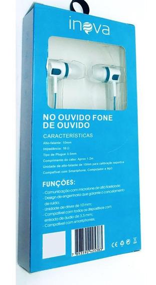 20 Fone Ouvido Musica Fon-8500 Inova