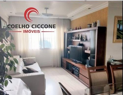 Imagem 1 de 14 de Apartamento Em Santa Paula - Sao Caetano Do Sul - V-3419