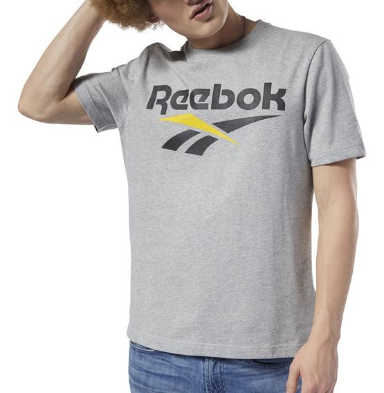 Remera Reebok Moda Classics Vector Hombre Go