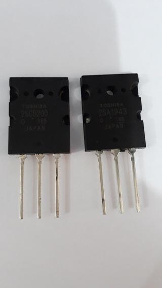 Par Transistor 2sc5200 / 2sa1943 Toshiba Original
