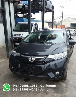 Honda Fit 1.5 Lx 2017 Sucata Para Peças