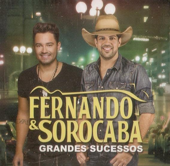 Cd Fernando & Sorocaba - Grandes Sucessos - Novo Lacrado***