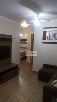 Apartamento Com 3 Dormitórios À Venda, 58 M² Por R$ 290.000 - Vila Industrial - Campinas/sp - Ap5533