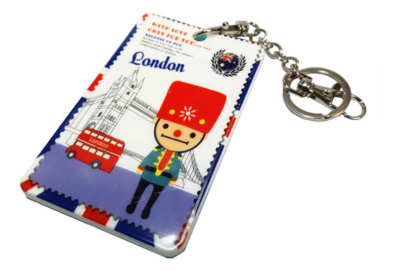 Hermosos Porta Sube Acrílico Diseño Londres Uk Reino Unido