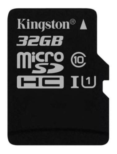 Cartão De Memória Kingston 32gb Com Adaptador Sd