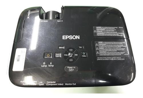 Projetor Epson Powerlite S8+ 2500 Lúmens - Com Defeito