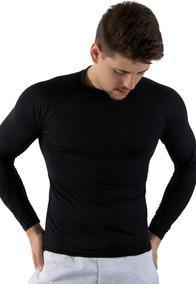 Camisa Térmica Masculina Segunda Pele Praia Surf Proteção Uv