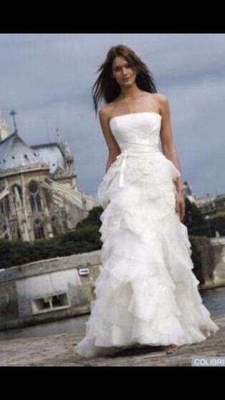 Vestido De Noiva Cymbeline Luxo Lindo Casamento- Completo