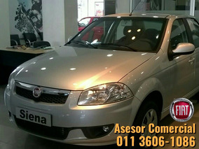 Fiat Siena El 1.4 Anticipo 27.900 Y Financiado !!