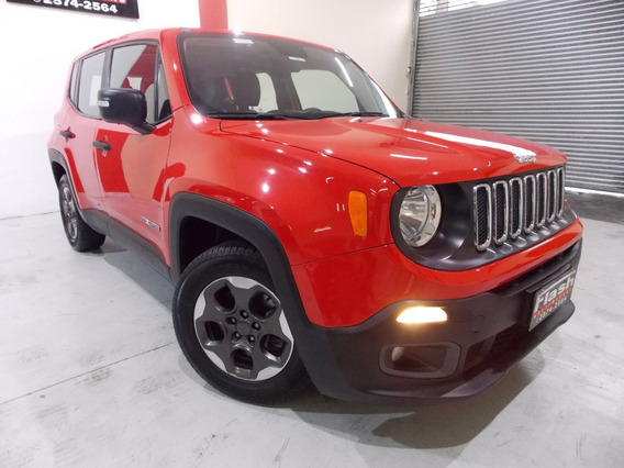 Jeep Renegade Sport 1.8 2016 Flex Mecanico + Couro (top)