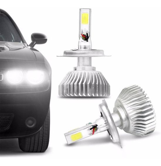 Kit Lâmpada Super Led H4 6000k Efeito Xênon Caminhão E Carro