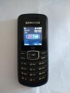 Celular Samsung Gt-e1086 Com Rádio Desbloqueado Defeito Tela