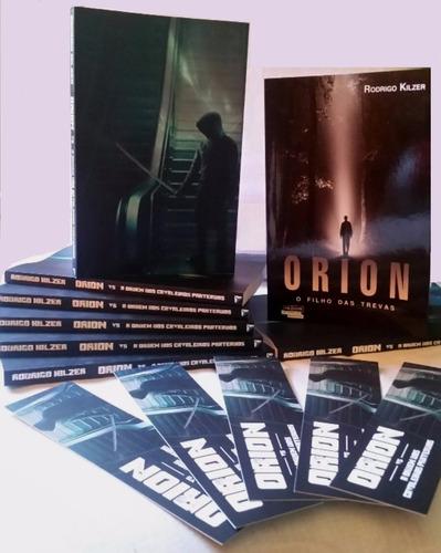 Combo 2 Livros Orion (o Filho Das T/ E Vs A Ordem Dos Cav..)