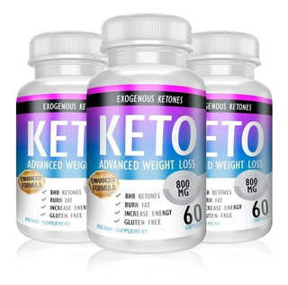 Keto Advanced Plus 3 Frascos