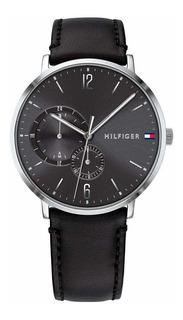 Reloj Tommy Hilfiger 1791509 Cuero Negro Hombre-ad