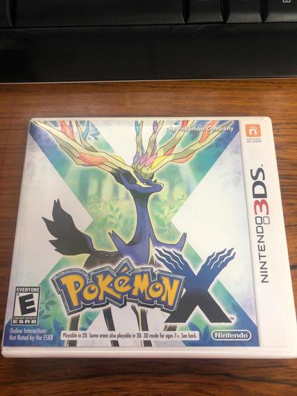 Pokemon X - 3ds - Física - Impecável
